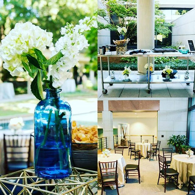 Beautiful set up at the carter center catering by decor by photos by venue