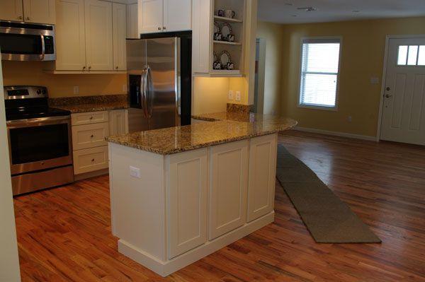 Island detail: Recently completed Landmark kitchen - Waypoint Living ...