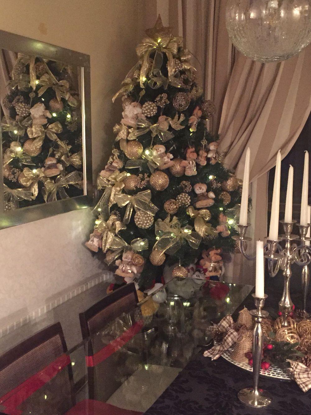 Mesa de natal/ decoração