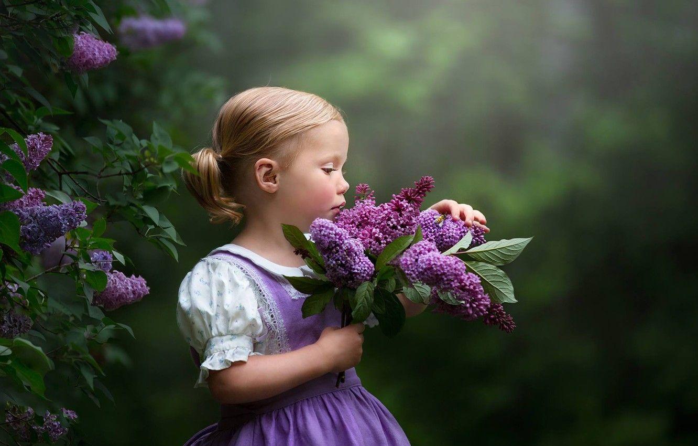 Обои настроение, Девочка, цветок. Настроения foto 9