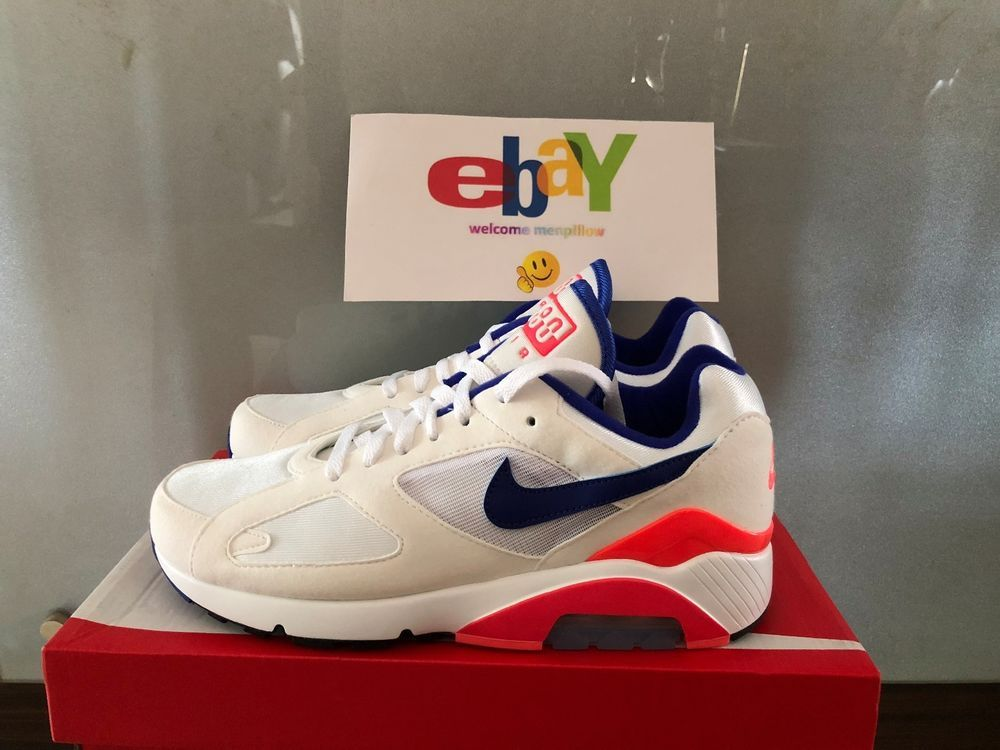Details about Air Max 180 Size 9.5 10 10.5 White Ultrmarine
