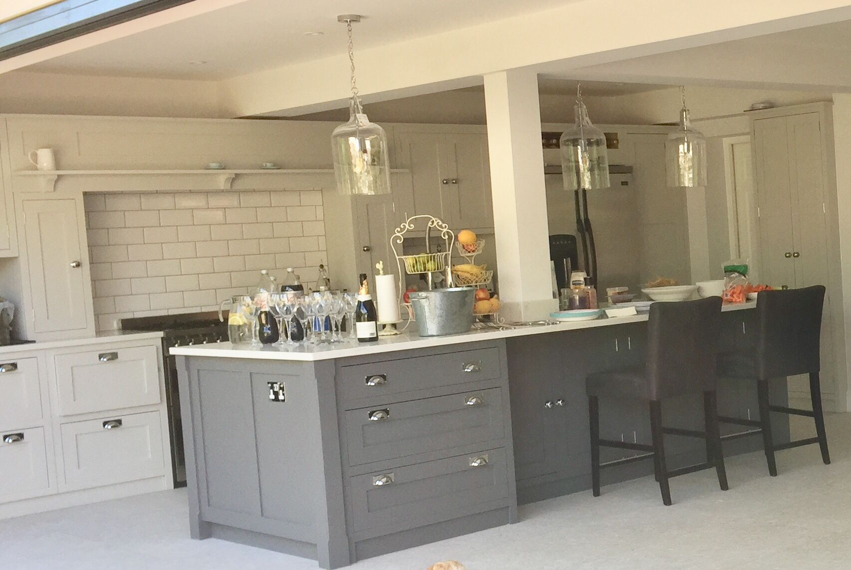 I Hand Painted My New Kitchen From Handmade Kitchens Of Christchurch Using Autentico Versante Matt Paint Fully Wa Handmade Kitchens New Kitchen Kitchen Paint