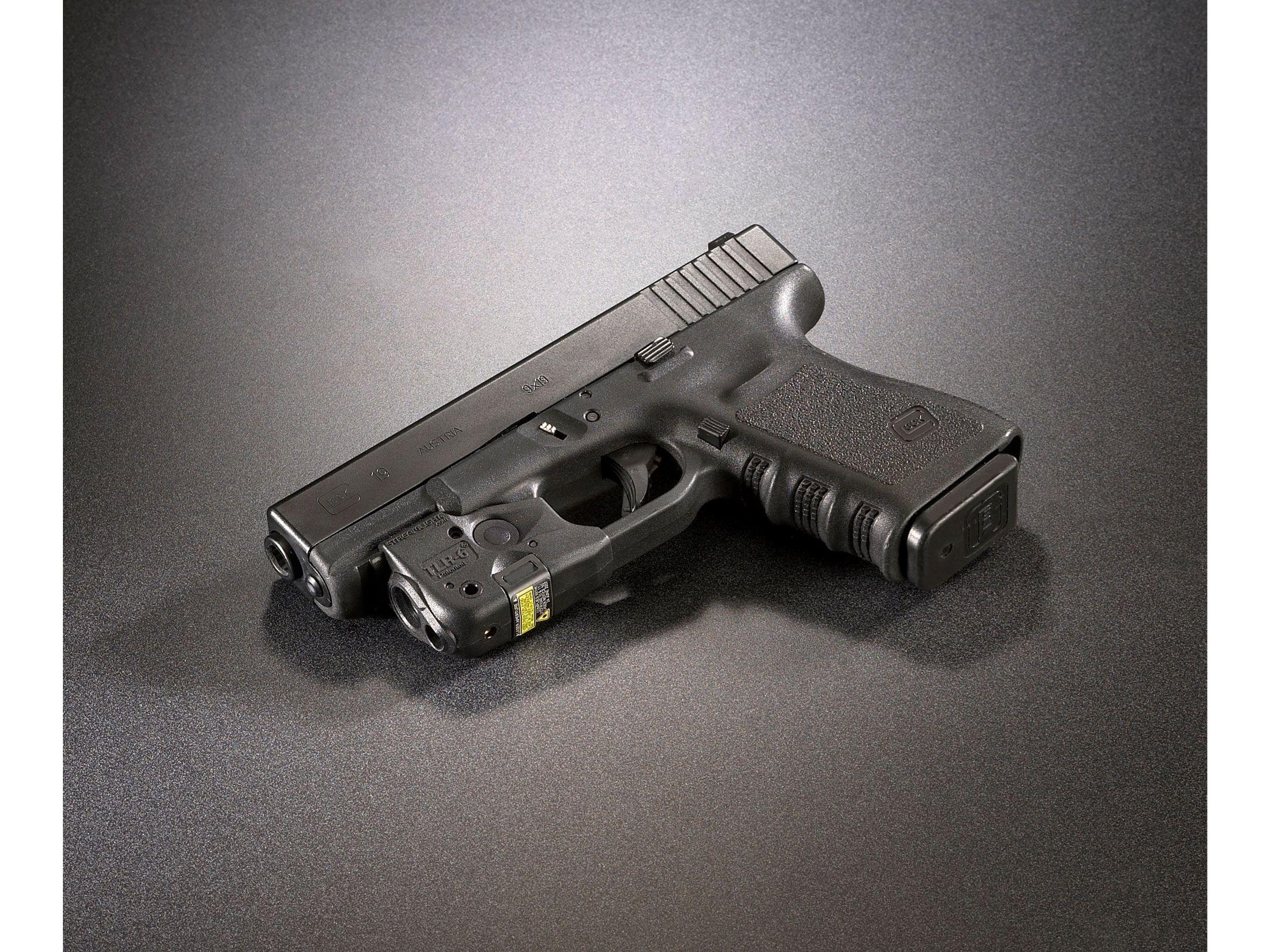 Streamlight Tlr 6 Rail Glock Weapon Light Led Laser