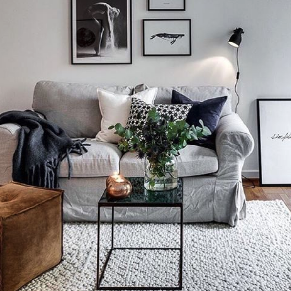 Pin by Rachel Bellman on House decor Vardagsrum, Soffbord marmor, Vardagsrum inspiration matta