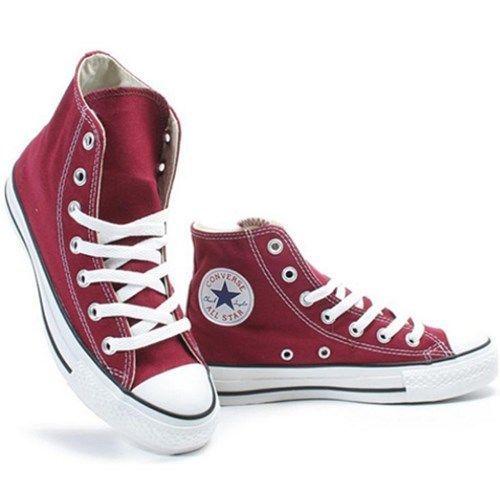 Converse All Star Hi Canvas Sneaker M9613 HI Maroon FHCrsT5y2c
