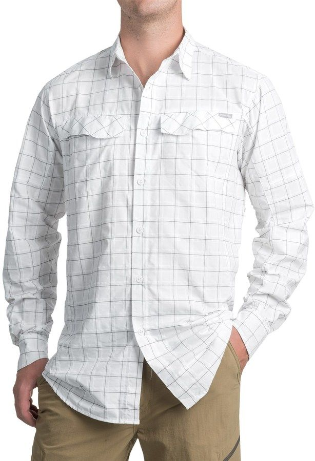 ab4cb5f926e Columbia Silver Ridge Plaid Shirt - UPF 30, Long Sleeve (For Big and Tall  Men)