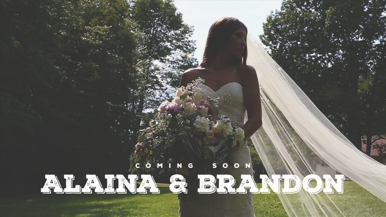 alaina brandon u0027s wedding took place in the backyard at their
