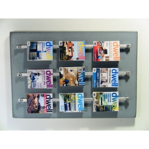 wall hanging dollhouse | Large Wall Hanging Magazine Rack ...