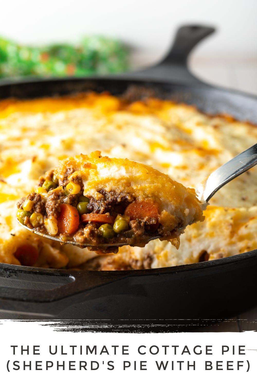 The Best Cottage Pie Recipe (Shepherd's Pie with Beef ...