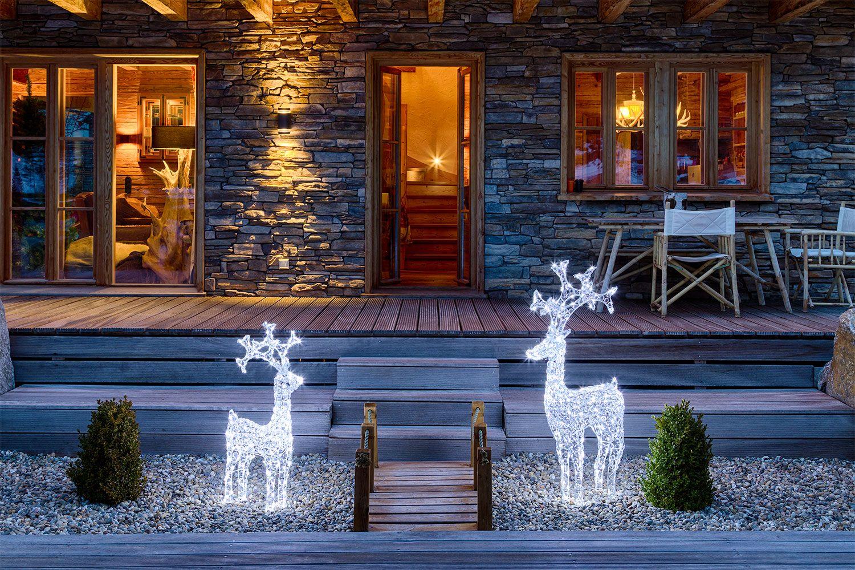 Come Creare Una Renna Luminosa addobbi e decorazioni natalizie 2020 | decorazioni luminose