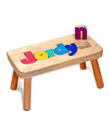 Another great find on zulily jewel puzzle personalized stool jewel puzzle personalized stool zulilyfinds negle Choice Image
