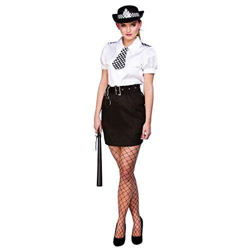 Constable Cutie Womens Police Officer Fancy Dress Costume Halloween