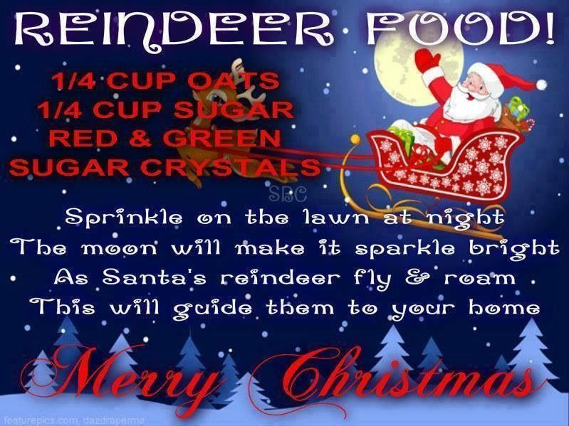 Reindeer food recipe holidays pinterest reindeer food food this is such a great idea the kids love this put it out christmas eve for santas reindeer raindeer food thanks for sharing my posts forumfinder Gallery