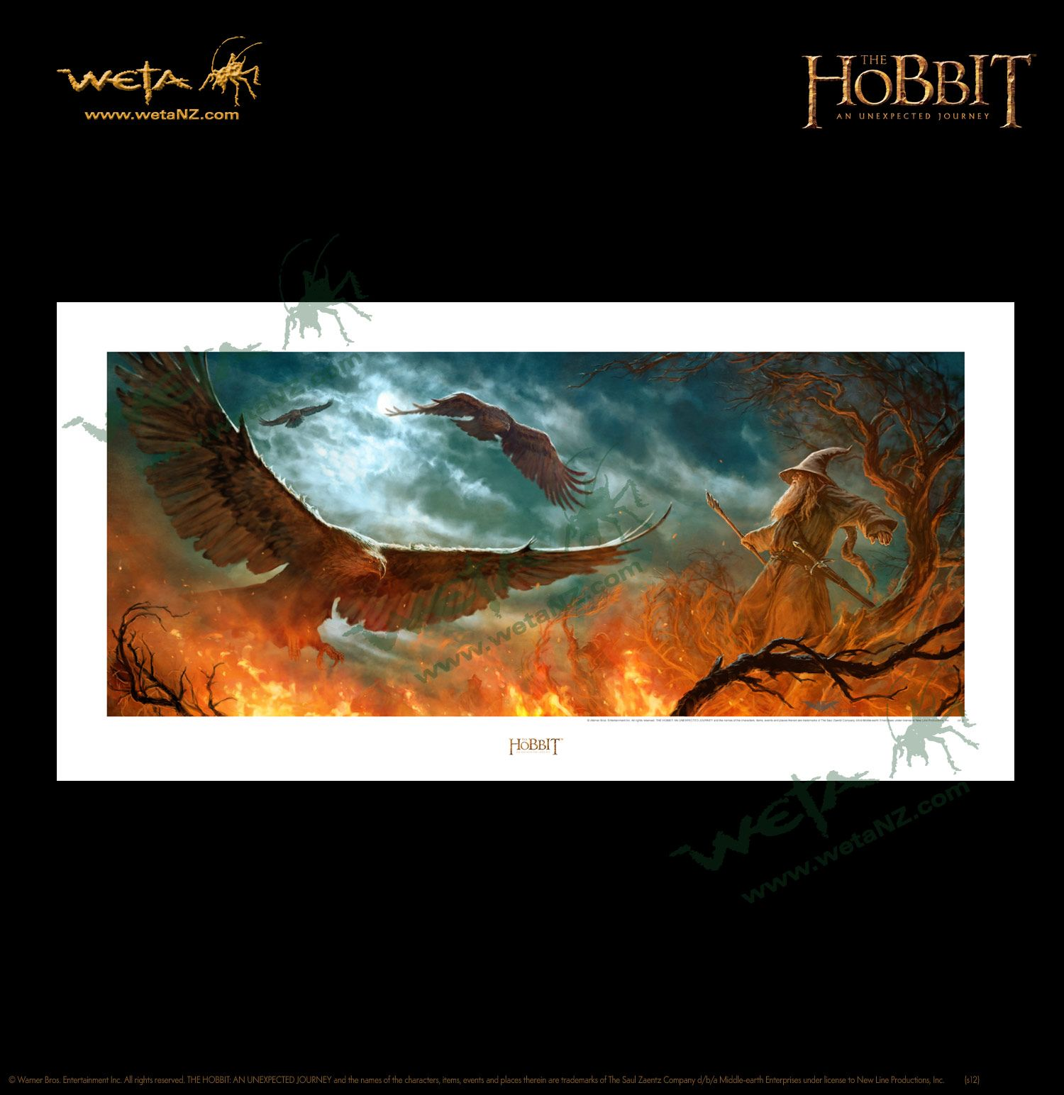 Art Print Riddles in the Dark from The Hobbit An