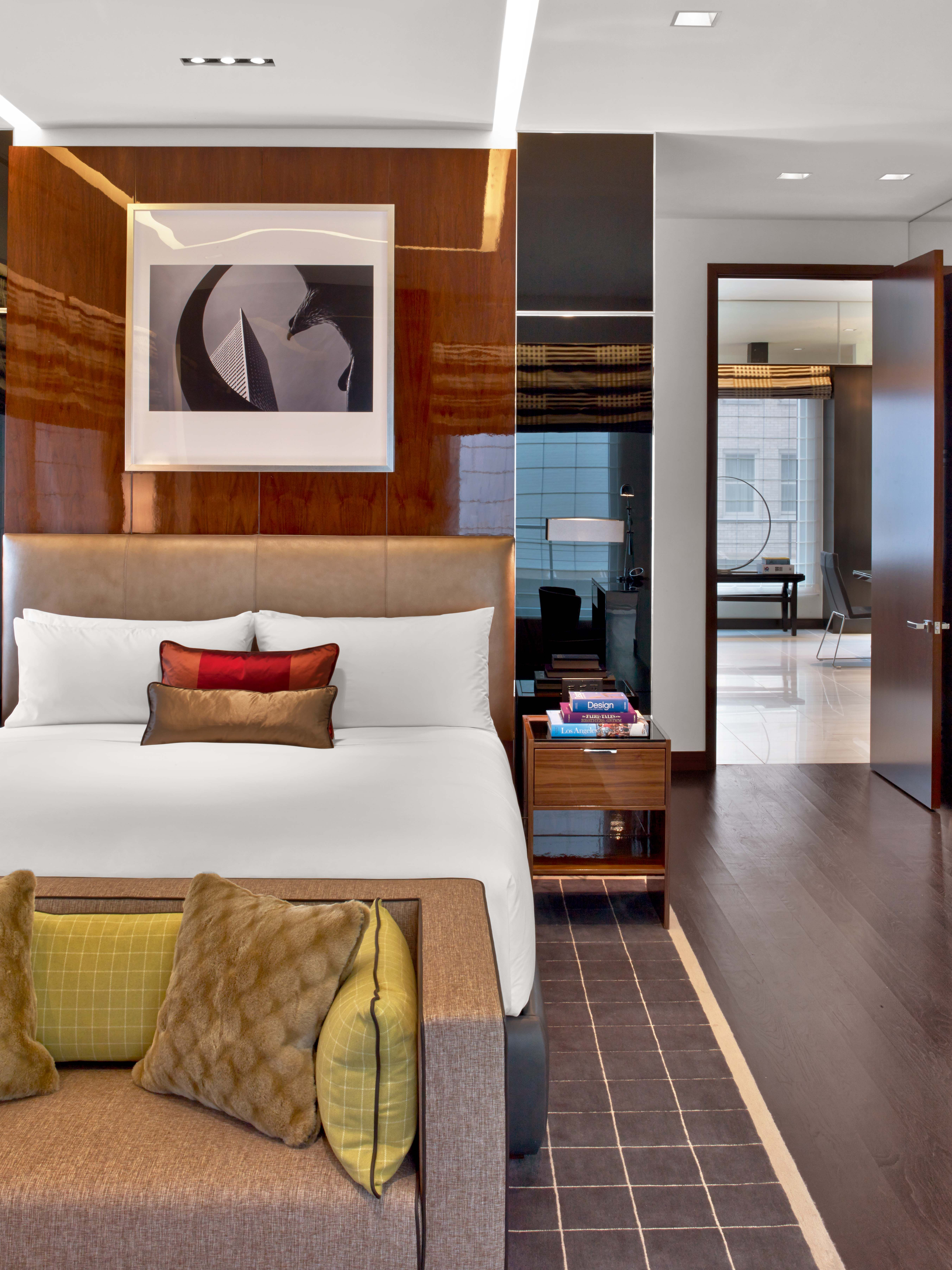 Penthouse Master Bedroom at The Joule
