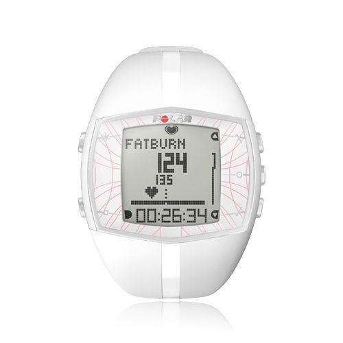 Polar watch. $180. It even lets you know the percentage of fat you are burning to help maximize your workout.