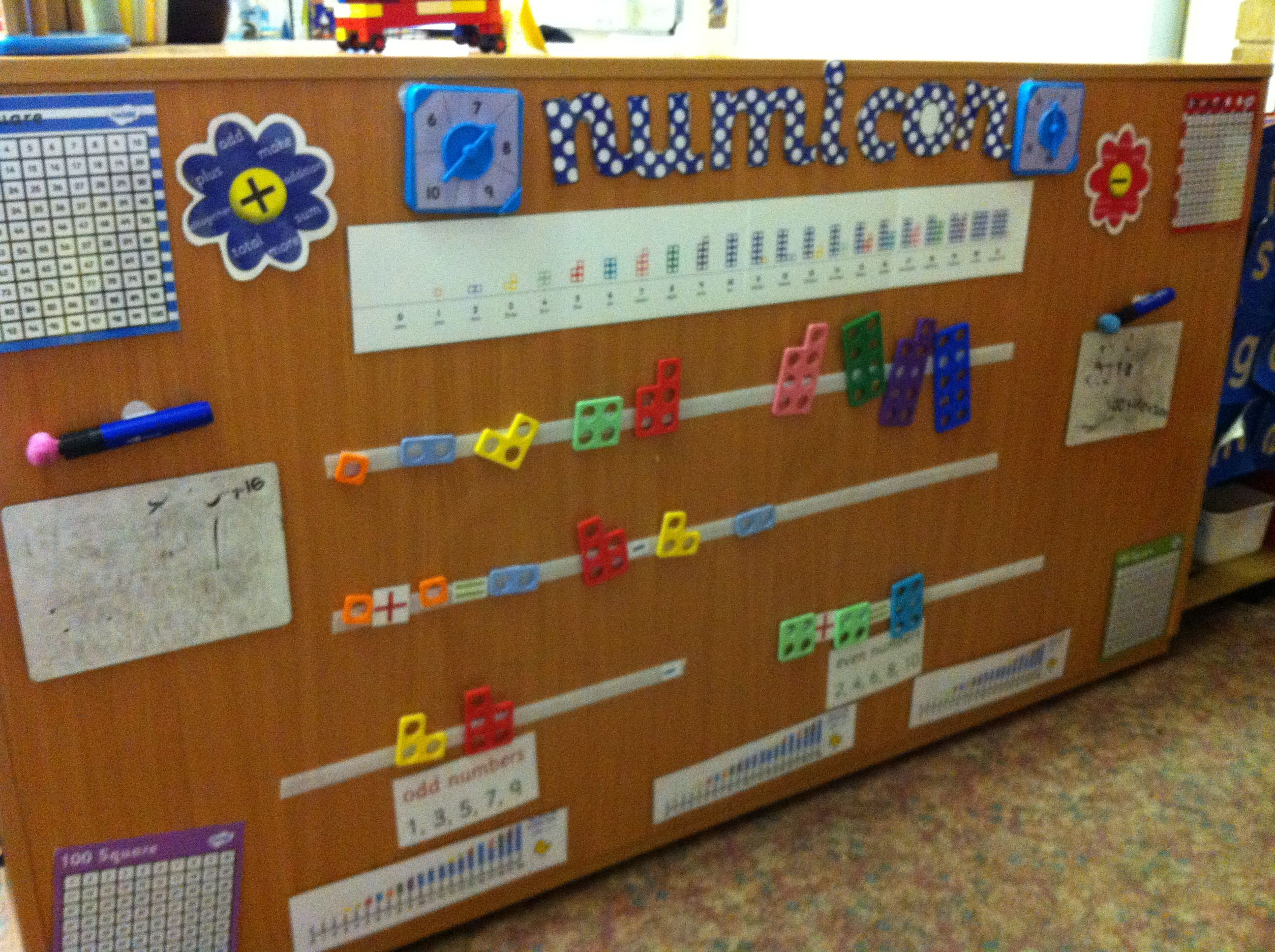 Quirky Classroom Ideas ~ Numicon interactive display education pinterest