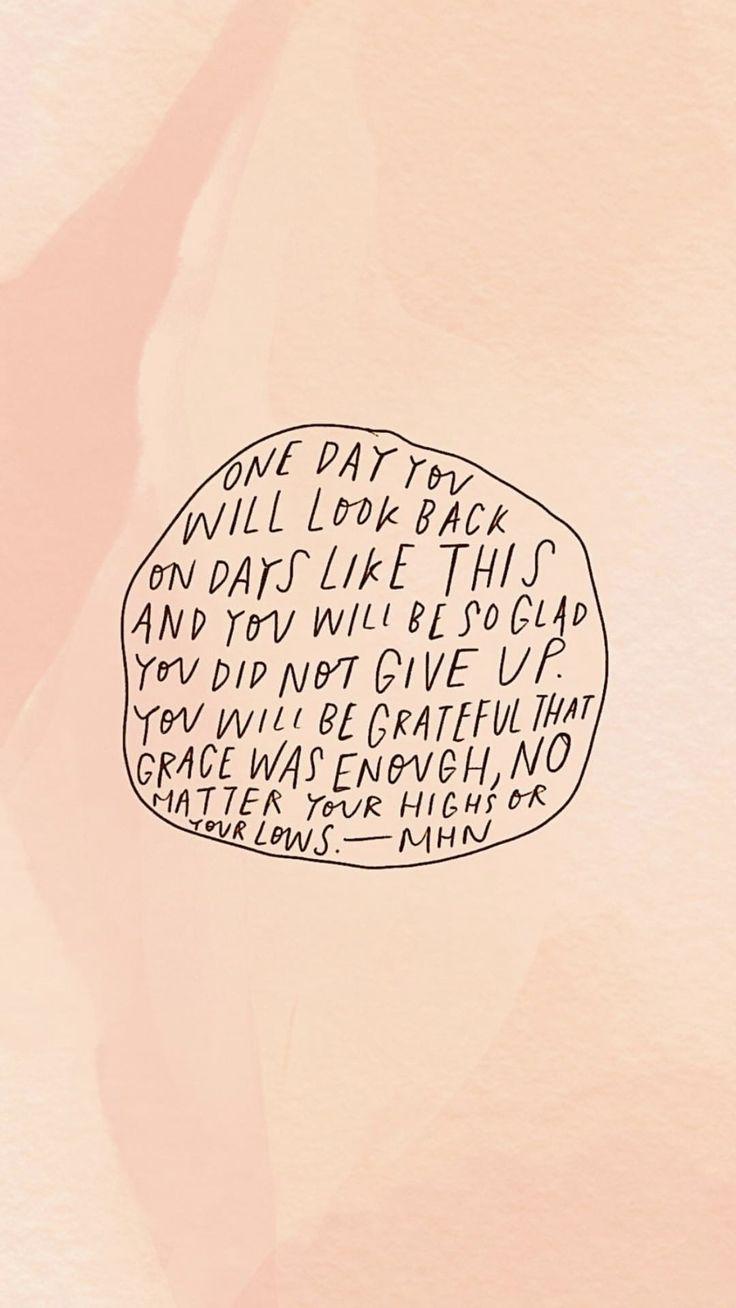 Motivzitat, das liest: Eines Tages werden Sie auf Tage wie diesen zurückblicken und ...  #diesen #eines #liest #motivzitat #tages #werden #zuruckblicken