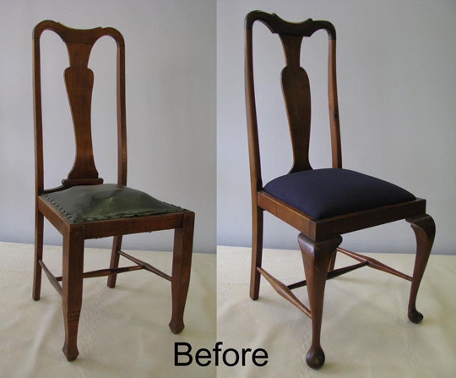 Lovely How To Reupholster Dining Chairs 2 Different Ways