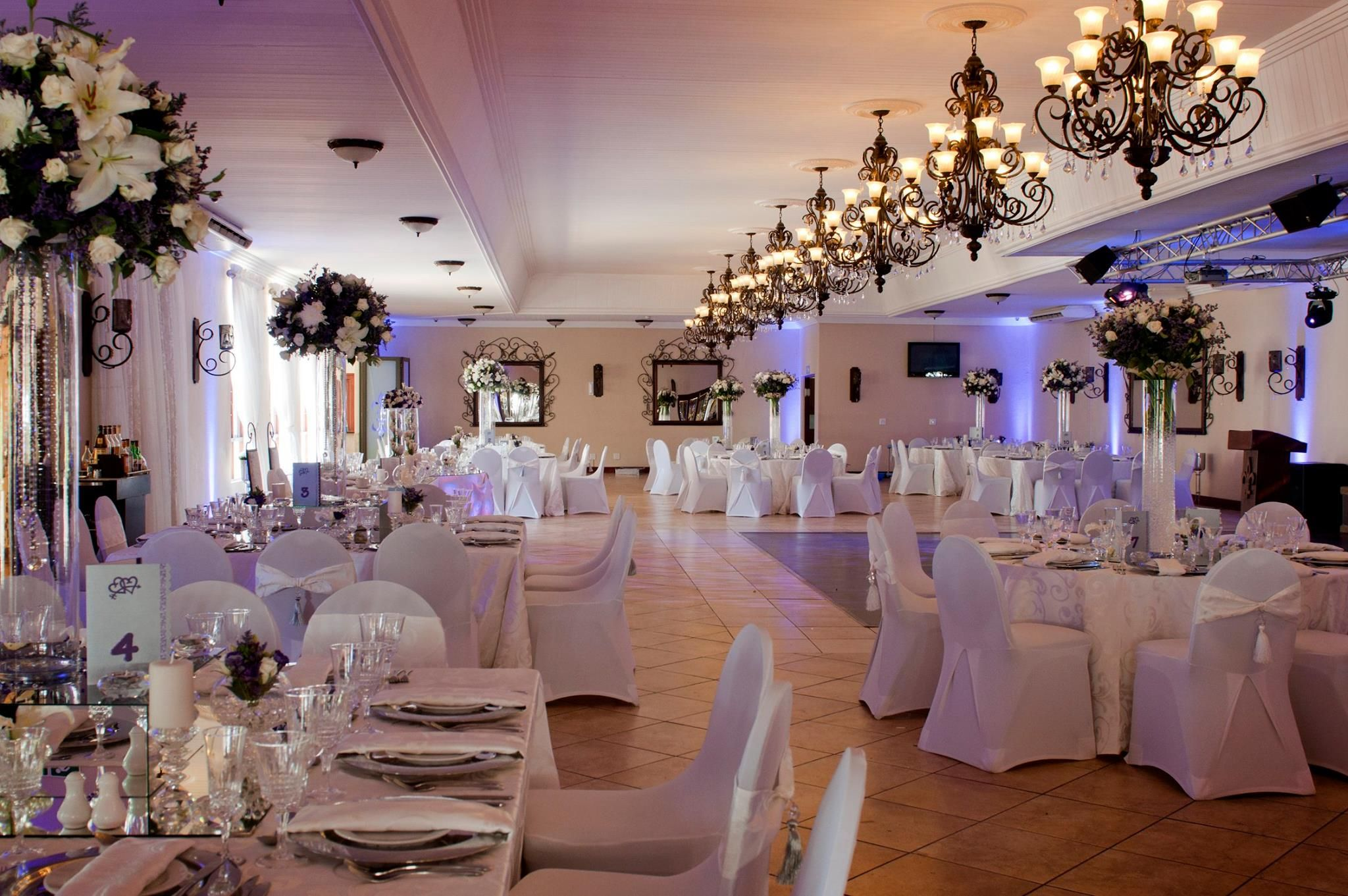 5 Star Wedding Venue Chez Charlene Pretoria East Gauteng