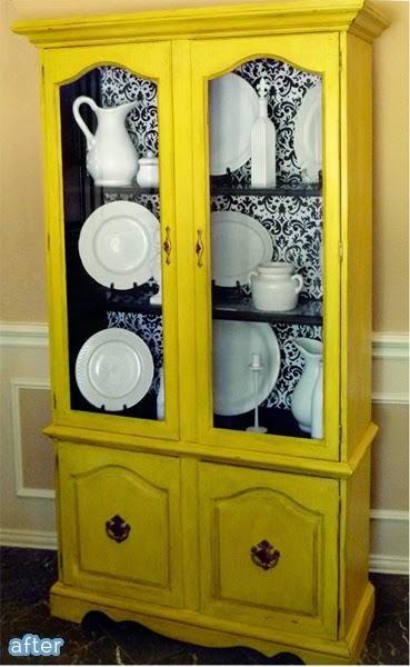 Diy antes y despu s de diferentes espacios en 2019 for Muebles de cocina amarillos