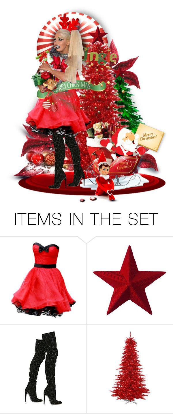 dfa028c46f0 Lady gagas christmas pinterest polyvore and fashion christmas polyvore jpg  600x1434 Christmas polyvore