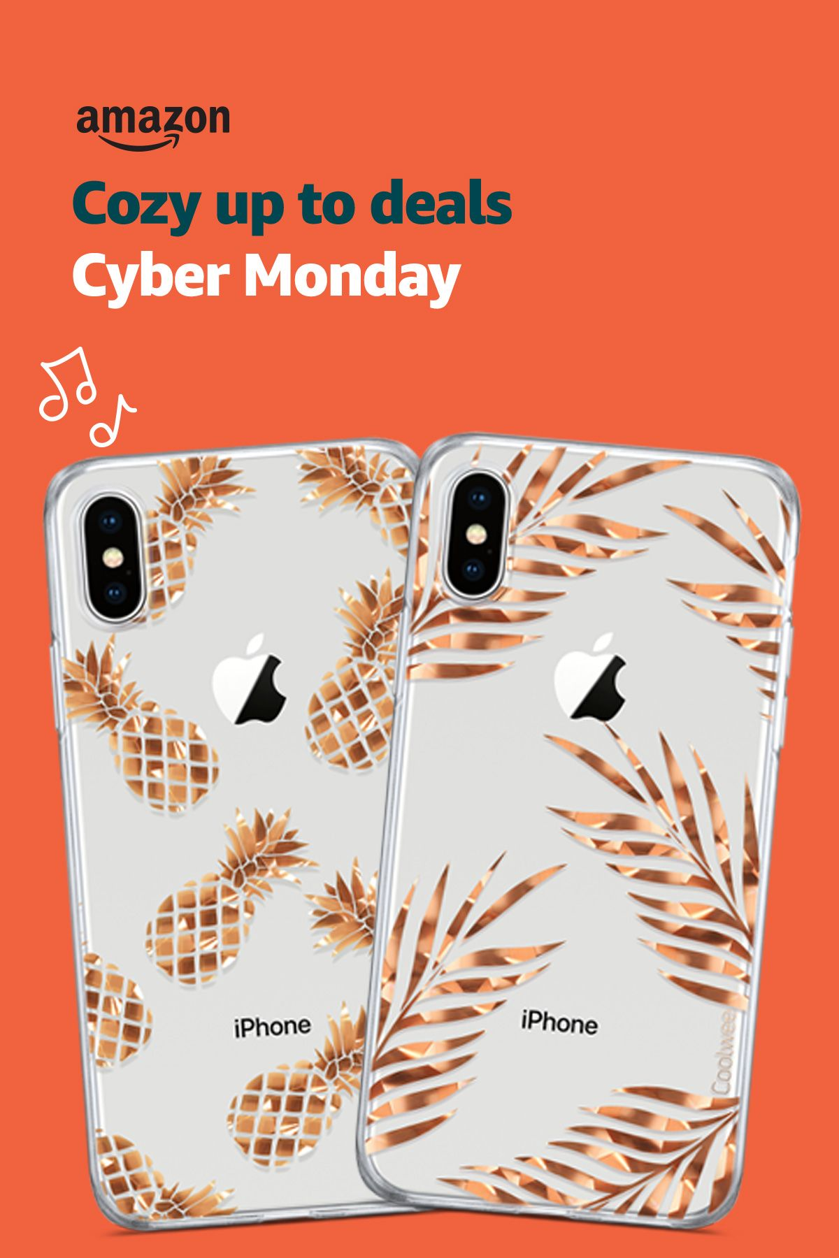 Cyber Monday Deals Coolwee Iphone Xs Max Rose Gold Floral Foil Clear Case On Amazon Https Amzn To 2p0kvow Save 10 Off For Case Rose Gold Case Iphone 10