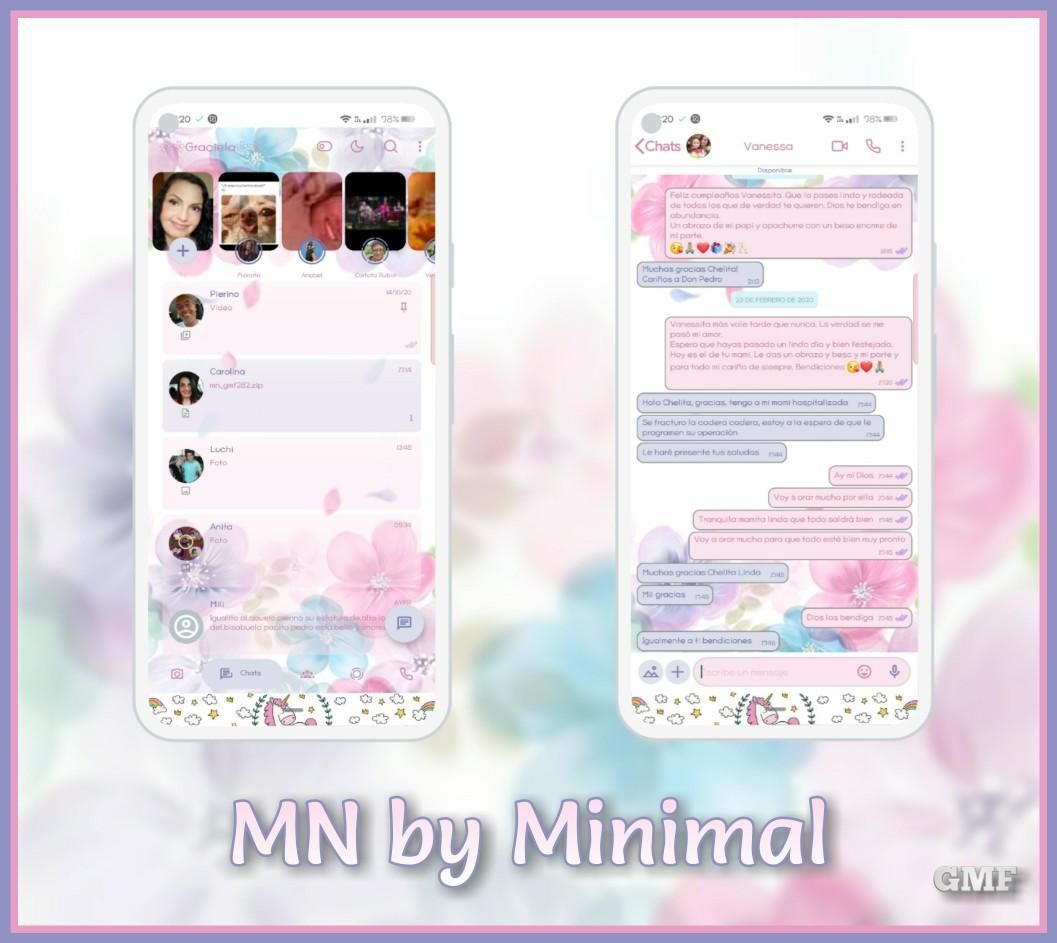 White Flower Theme For YOWhatsApp & Fouad WhatsApp By CMF in 20 ...