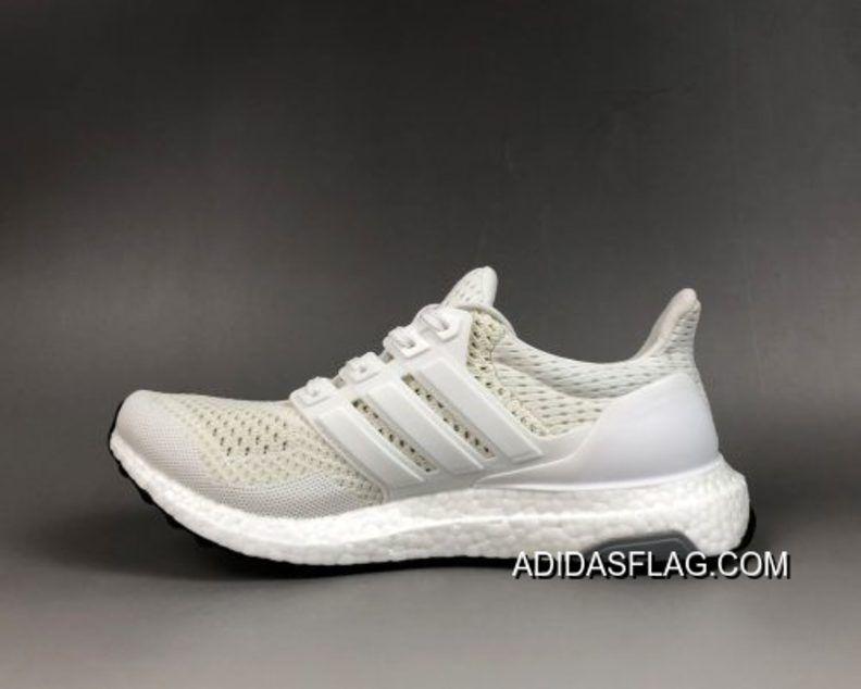 Nuevo estilo Adidas ultra impulso m triple zapatos blancos Pinterest
