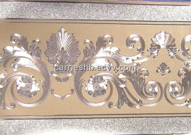 Golden Foil Wallpaper Border China Wallpaper Borders Wallpaper Border Wallpaper Manufactory