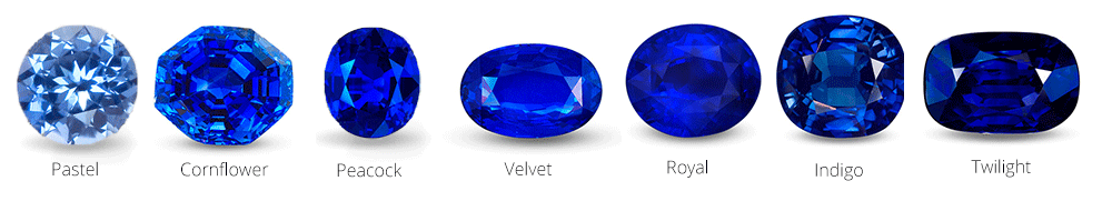 Sapphire Colours Sapphire Color Engagement Rings Sapphire Jewelry Education