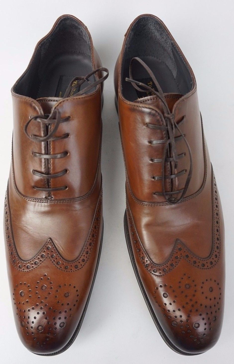c6f952f065984 These are brown To Boot New York Dodd Wingtip shoes in size 12. The ...