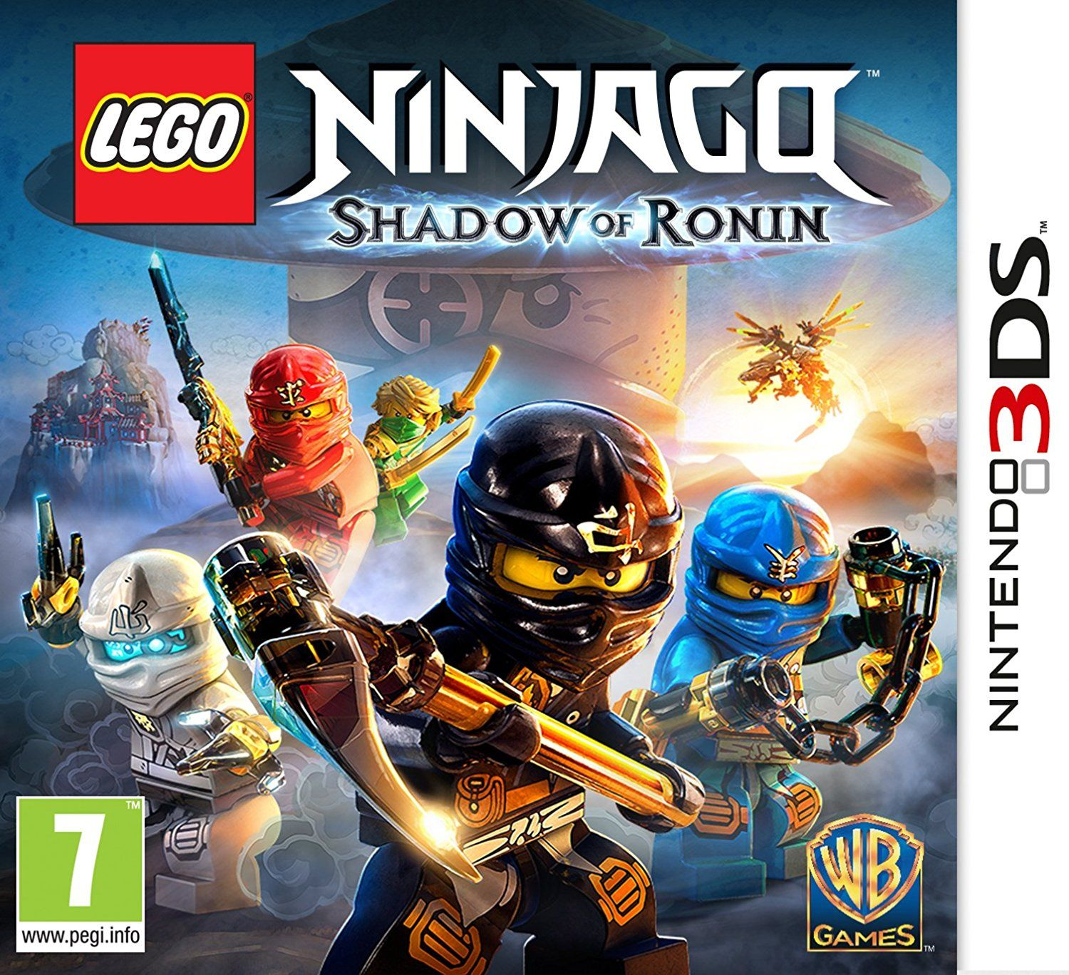 Скачать lego ninjago shadow of ronin на пк