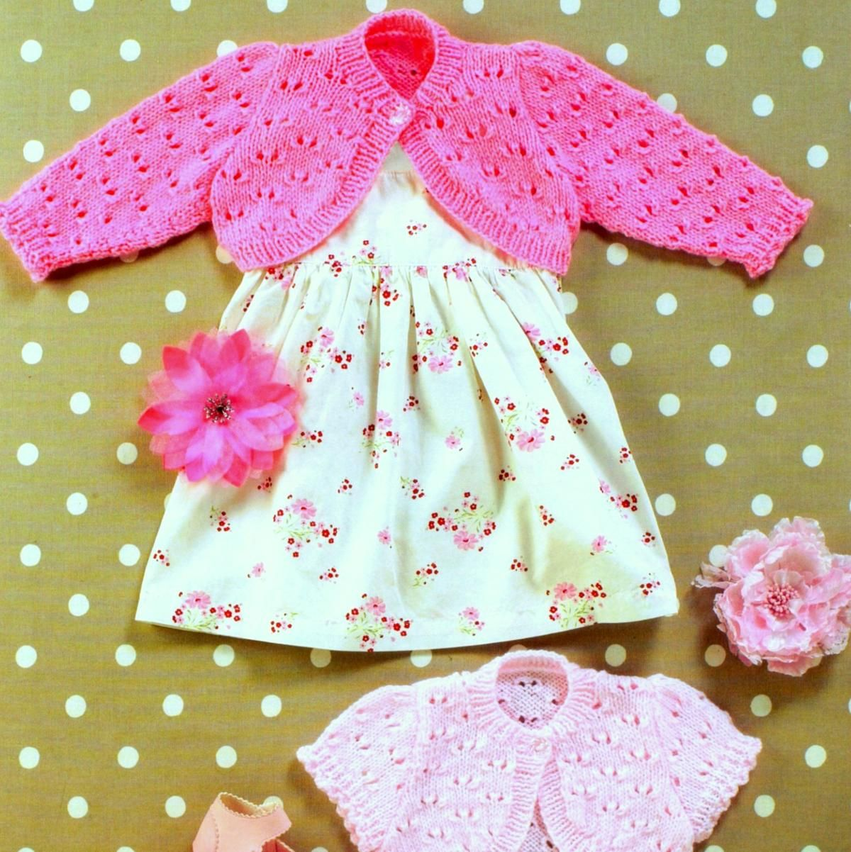 Baby and Childrens Bolero Shrug Cardigan | Craftsy | Baby ...