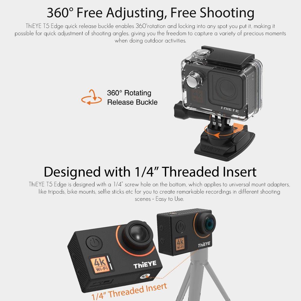 ThiEYE T5 Edge 4K WiFi Action Sports Camera Sales Online