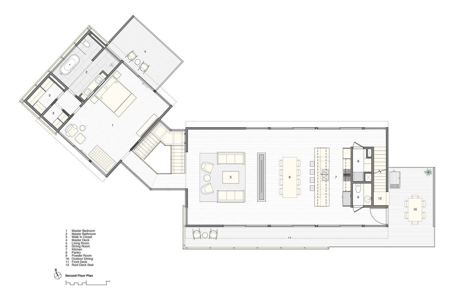 Galería de Casa en las Dunas / Stelle Lomont Rouhani Architects - 31