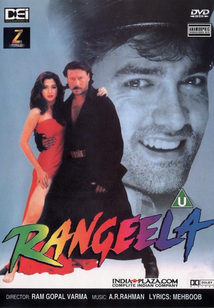 Rangeela Hindi 90s Bollywood Songs Bollywood Songs Bollywood Posters