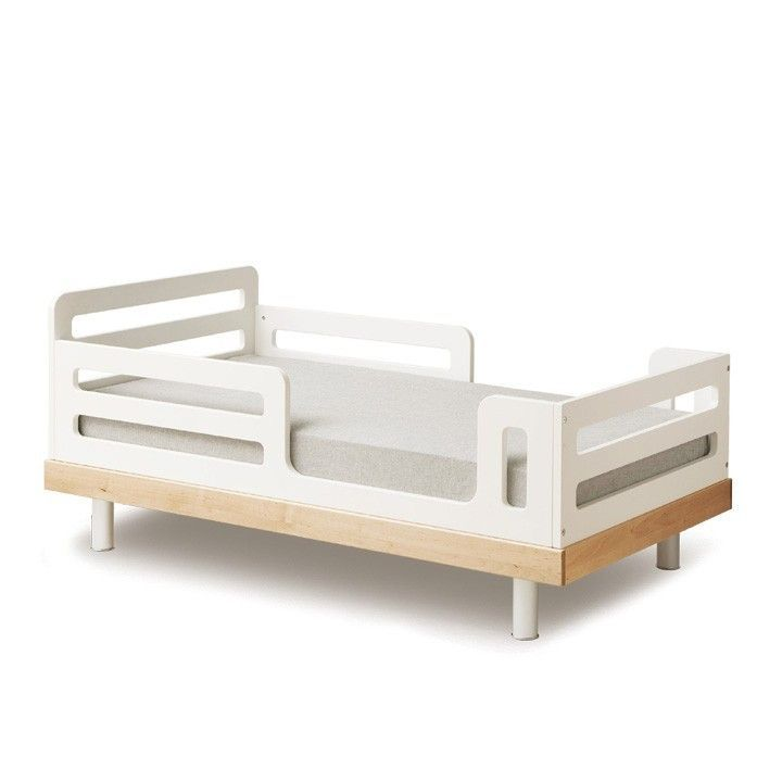 Classic Toddler Bed - Walnut by Oeuf images