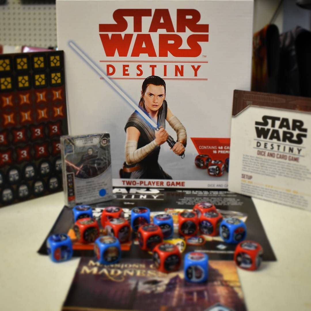 Newly Opened Game Star Wars Destiny TwoPlayer Box!