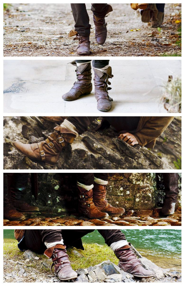 MERLIN's SHOES. THIS IS PERFECT!