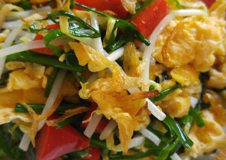 Resep Kuchai Cah Telur Dan Tauge Oleh Yenlie Wang Resep Makanan Indonesia Telur Resep