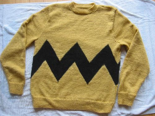 Charlie Brown Sweater | Knitting | Pinterest | Charlie brown ...