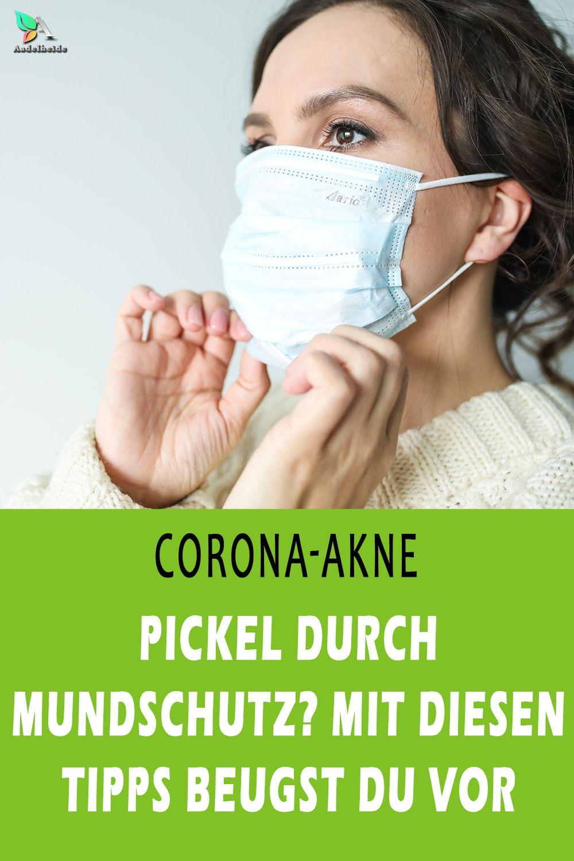 Mundschutz Pickel