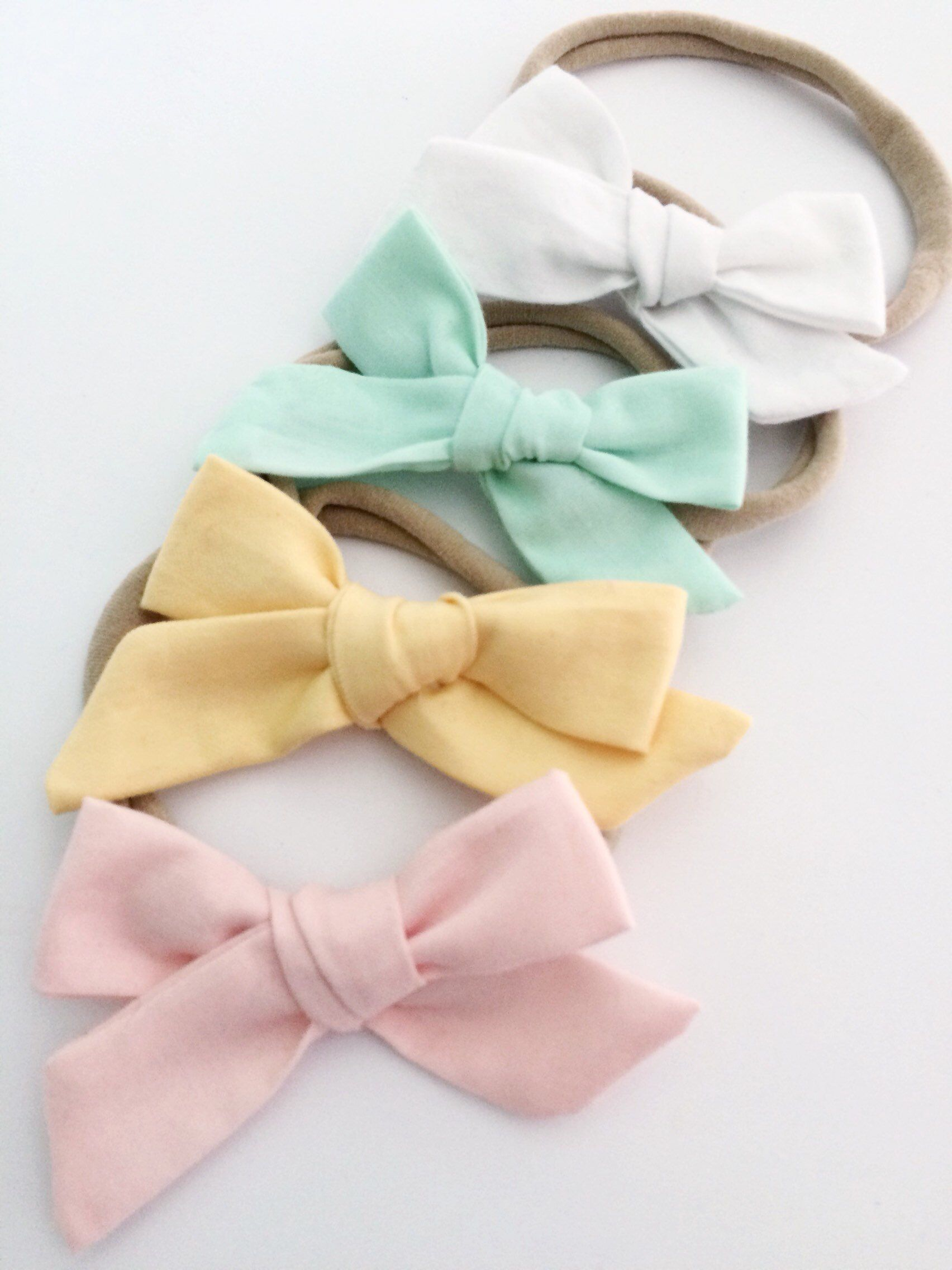 Spring//Easter Tiny Tot Infant Hair Bows