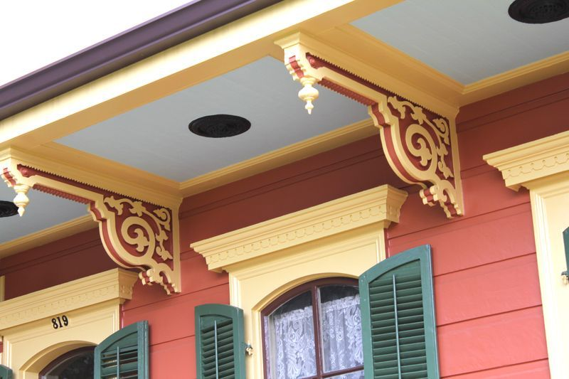 New House Paint Colors burgundy tin roof | dispatch from new orleans: new orleans house