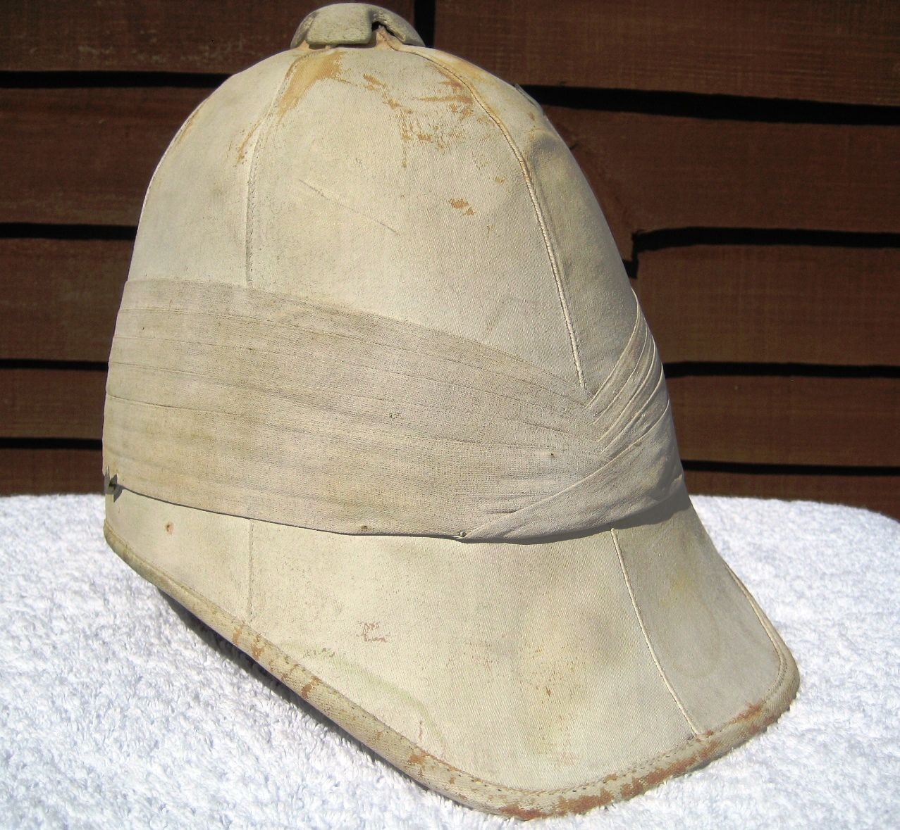 c7058abc80151 28 LXI Militaria UK – Headdress – Victorian   Boer   Zulu War Period British  Army Officers 1871 Pattern Foreign Service Pith Helmet.