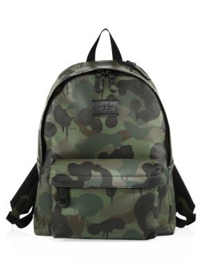7634b00203d3 COACH Camouflage Campus Backpack.  coach  bags  leather  backpacks ...