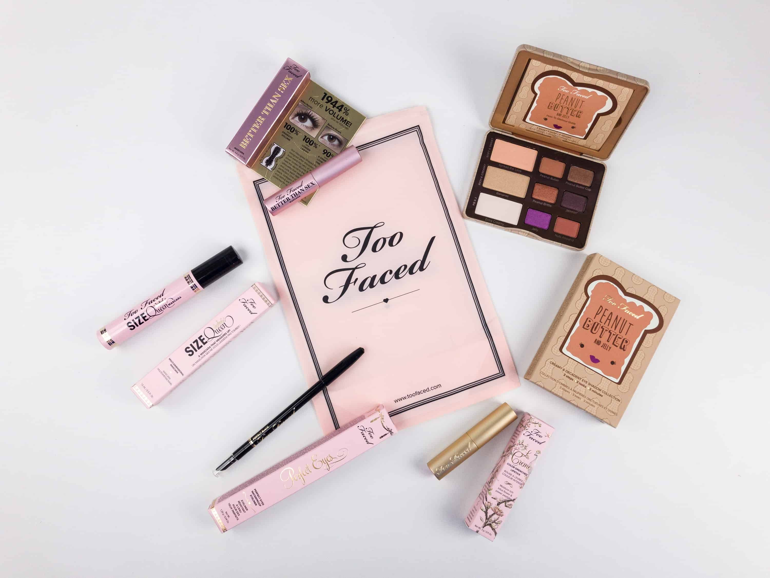 Too Faced Beautiful Eyeshadow Makeup Items Face