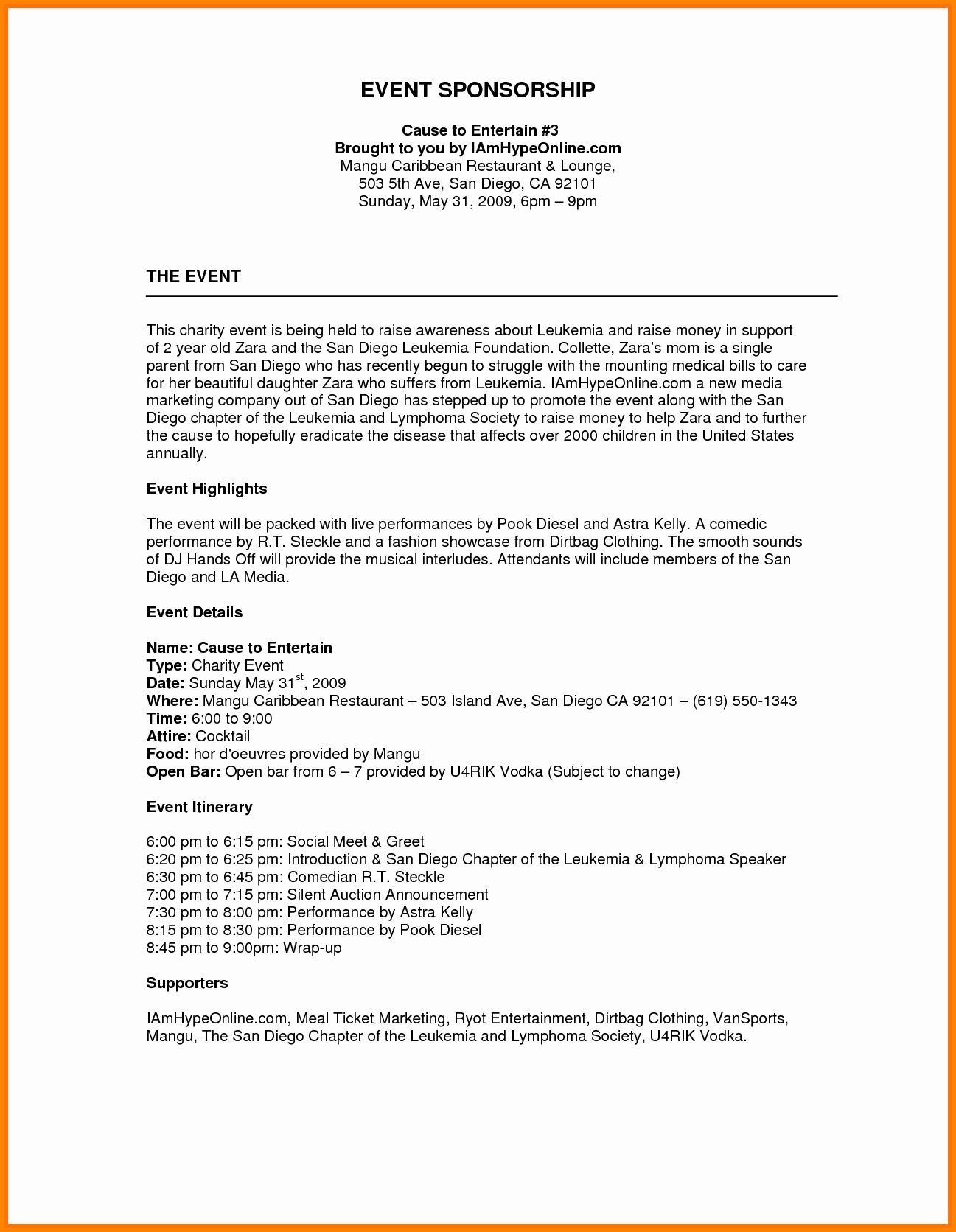 Fundraising Plan Template Free Beautiful Image Result For Sponsorship Proposal Template Event Proposal Event Proposal Template Event Planning Proposal
