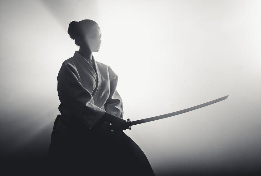 поздравления для самурая курсор